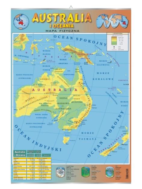 Australia Mapa Fizyczna Visual System