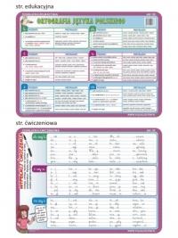 Ortografia - edukacyjna podkładka ćwiczeniowa - ABC 02