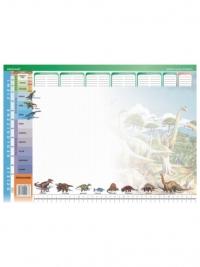 Dinozaury - podkład na biurko